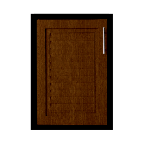 Polywood บานซิงค์เดี่ยว M-SERIES Nature ขนาด 45.5x65.5 cm.  M-13  สีโอ๊ค