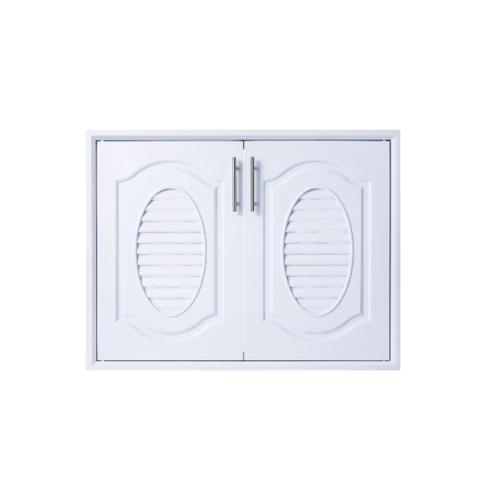 Polywood บานซิงค์คู่  M-SERIES ขนาด 85.5x65.5 cm. TW M-11 สีขาว