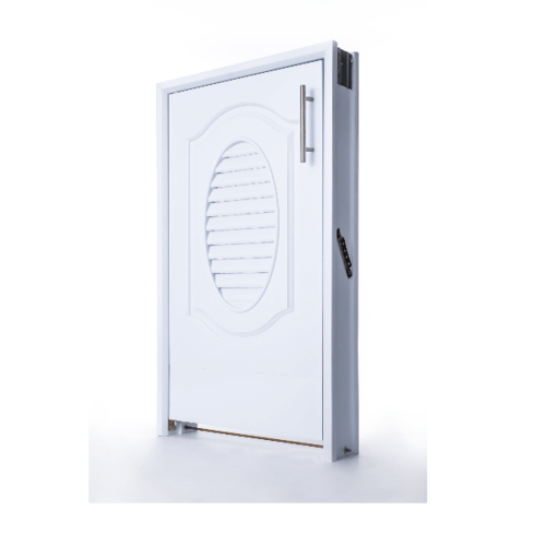 Polywood บานซิงค์ถังแก๊ส  M-SERIES ขนาด 45.5x75.5 cm. TW M-11 สีขาว