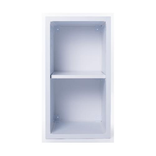 Polywood ชั้นเข้ามุม  ขนาด 35x66x34 cm.  M-SERIES สีขาว