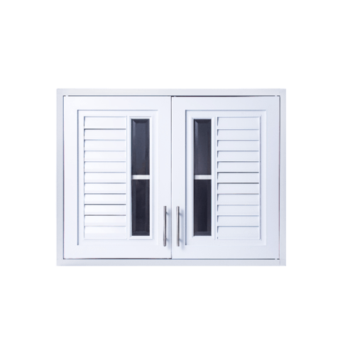 Polywood ตู้แขวนคู่ M-SERIES ขนาด 86x66x34 cm.   TW M-16 สีขาว