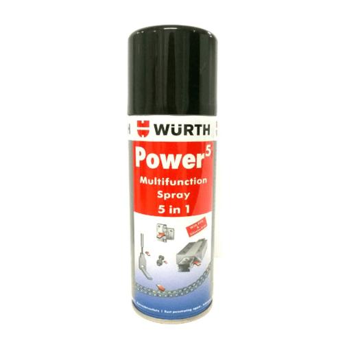 WUERTH น้ำยาเอนกประสงค์ 5 ประการ Power 5 ขนาด 200 ml 200 ml