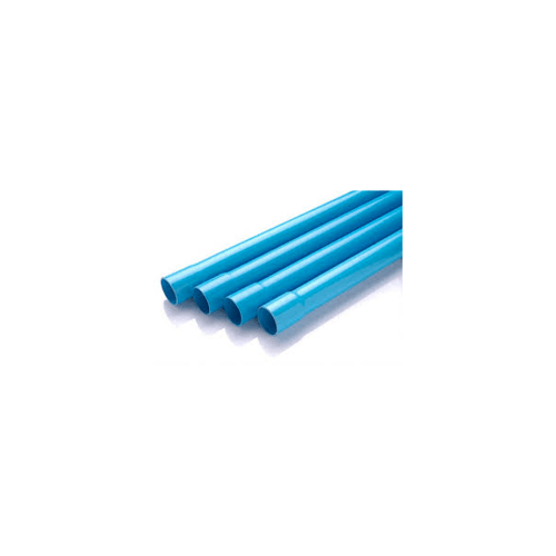 Power Plus  ท่อพีวีซี 1 ½ นิ้ว ชั้น 5  ปลายบาน สีฟ้า