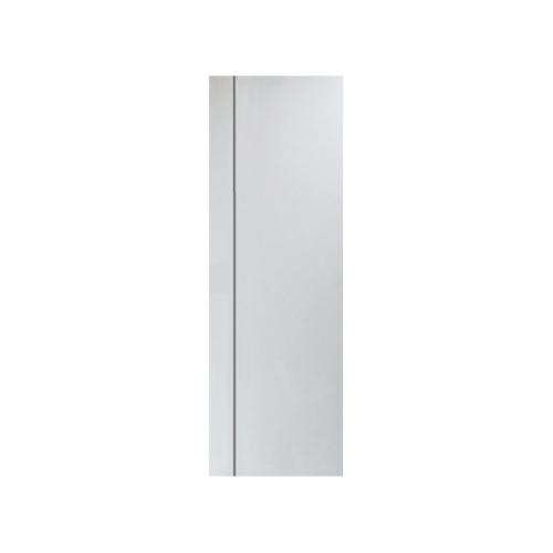 PEOPLE ประตู UPVC MG1 เซาะร่องเทา 70x200 (เจาะ)  MG1 สีขาว