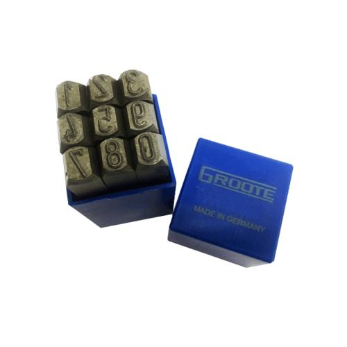 IRWIN เหล็กตอก ตัวเลข 1-10 4mm. (5/32)  Groote