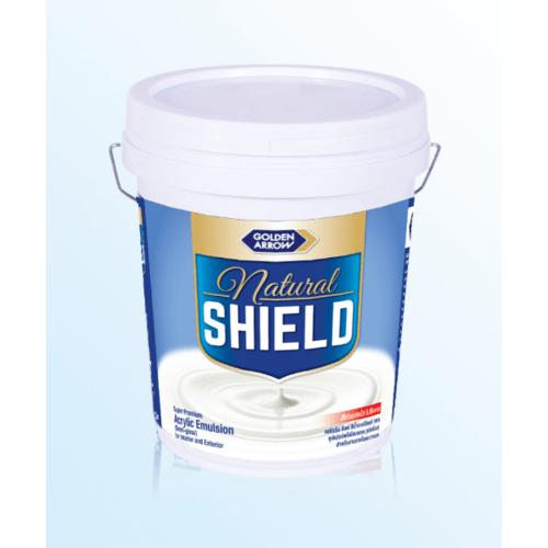 NATURAL SHIELD สีน้ำกึ่งเงา LILY WHITE 2.5 GL N5201 สีขาว