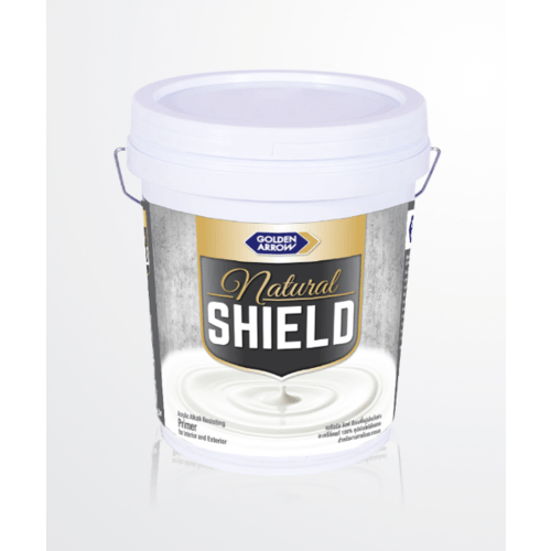 NATURAL SHIELD สีรองพื้นปูนใหม่กันด่าง P1000 สีขาว