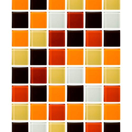 โมเสคแก้ว มามาร์เลด A. Mosaic Wonder  Mix Series (โมเสค วันเดอร์  มิกส์  ซีรี่ส์) แดง