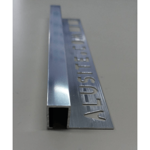 Alusite คิ้วอลูมิเนียมแบบเหลี่ยม 12 มม. ยาว 2 เมตร.  TSAP120 Bright Silver.