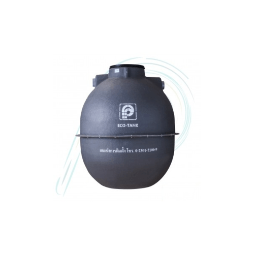 PPP ถังบำบัดน้ำเสีย อีโคแท้งค์ เอ็กซ์ตร้า  EC-7E 2120L สีเทา