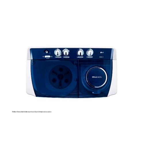 LG  เครื่องซักผ้า 2 ถัง 14 กก.   TT14WAPG   สีขาว