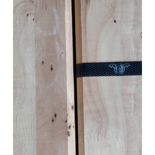 GREAT WOOD ฝ้าระแนงไม้ยางพาราจ๊อยส์(1x5ตัว) RB 1/2x4x1.00 ม.CC