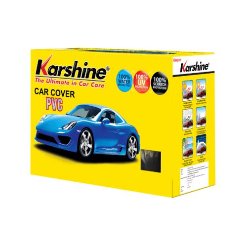 Karshine ผ้าคลุมรถ  PVC   SIZE. L สีเหลือง