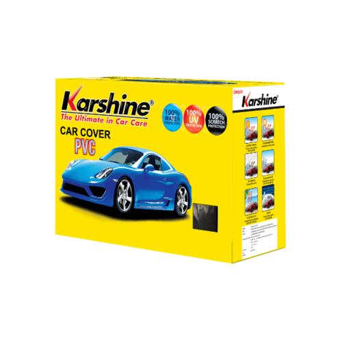 Karshine ผ้าคลุมรถ PVC   SIZE. M สีเหลือง
