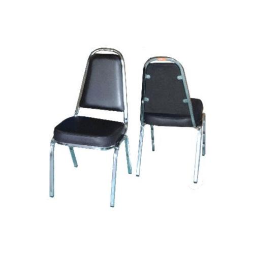 SBL เก้าอี้จัดเลี้ยง มีหู หุ้มหนังสีน้ำตาล CM-002-B6P