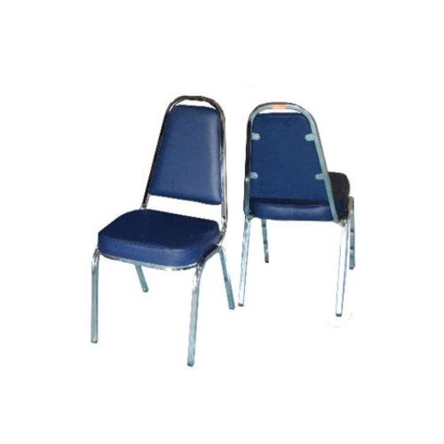 SBL เก้าอี้จัดเลี้ยง มีหู หุ้มหนังสีน้ำเงิน CM-002-B4P