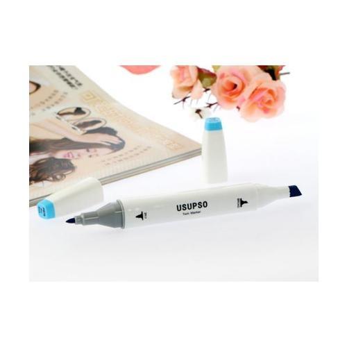 USUPSO ปากกาไฮไลท์PB7610 - สีฟ้า