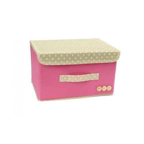 USUPSO กล่องเก็บของ candy color สีครีม - สีขาว