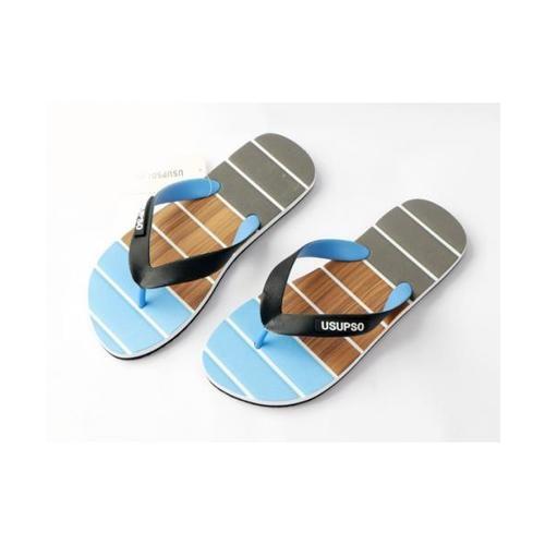 USUPSO รองเท้าแตะผู้ชาย  No.42 สีฟ้า