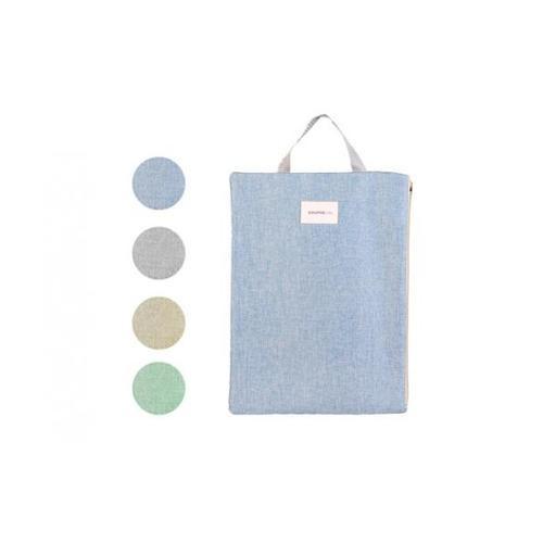 USUPSO  ถุงผ้า Japanese style - สีฟ้า