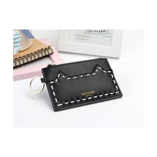 USUPSO กระเป๋านามบัตร cat ear series สีดำ
