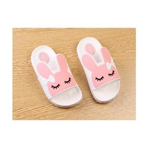 USUPSO USUPSO รองเท้าแตะเด็ก Bunny สีขาว -29 - สีชมพู