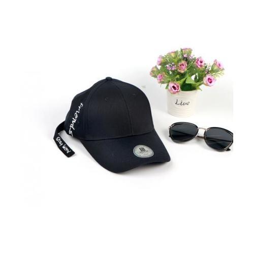 USUPSO หมวกแก๊ป  decorative baseball   สีดำ