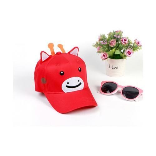 USUPSO หมวกเด็ก calf - สีแดง