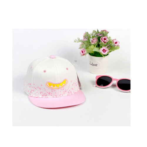 USUPSO หมวกแฟชั่นเด็ก - สีชมพู