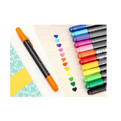 USUPSO ปากกาสี 2 หัว -