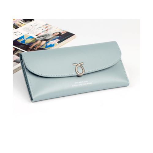 USUPSO  กระเป๋าผู้หญิง  สีฟ้า