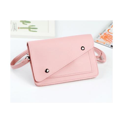 USUPSO กระเป๋าใส่มือถือแบบเรียบ - สีชมพู