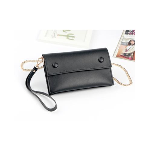 USUPSO  กระเป๋าถืออเนกประสงค์  สีดำ