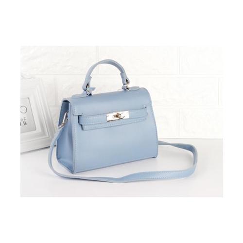 USUPSO กระเป๋าสะพายผู้หญิง สีฟ้า  - สีฟ้า