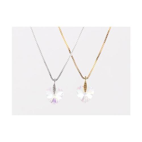 USUPSO สร้อยคอ Heart Crystal -