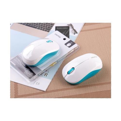 USUPSO  เม้าส์ไวร์เลส  Fashion simple  สีขาว