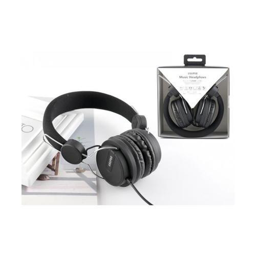 USUPSO หูฟัง  HM094  สีดำ
