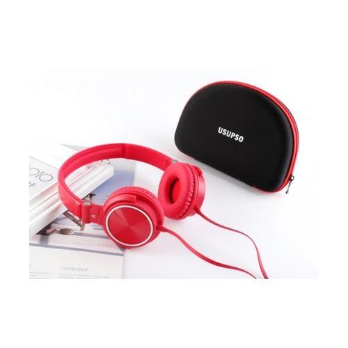 USUPSO หูฟัง  HM710  สีแดง