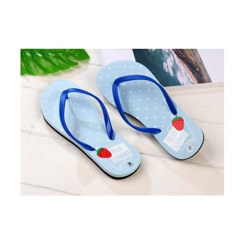 USUPSO รองเท้าแตะผู้หญิง No.38 สีฟ้า - สีฟ้า