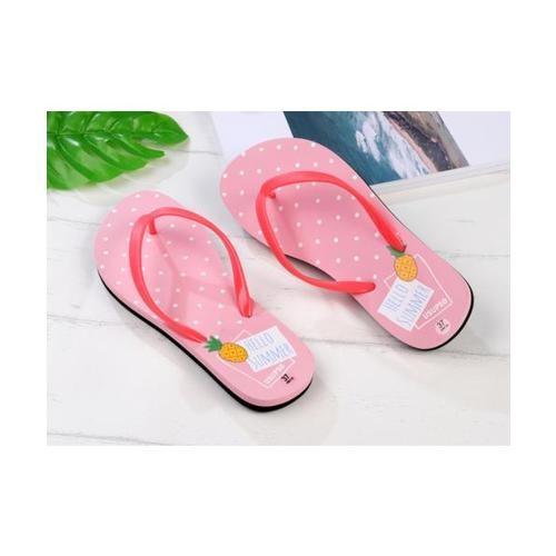 USUPSO รองเท้าแตะผู้หญิง No.37 สีชมพู - สีชมพู