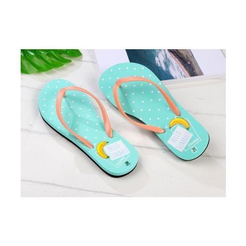 USUPSO  รองเท้าแตะผู้หญิง No.38 สีเขียว - สีเขียว