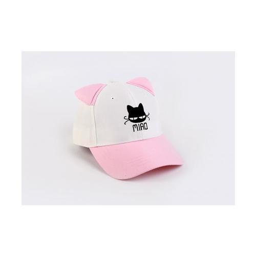 USUPSO หมวกเด็ก  Cat Ear สีชมพู สีชมพู