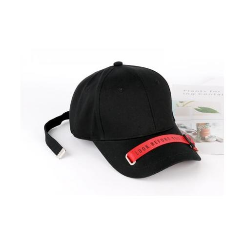 USUPSO หมวกแก๊ป Spring and summer สีดำ - สีดำ