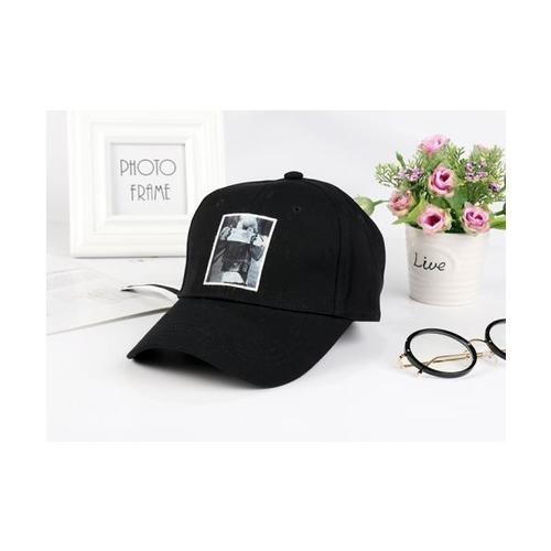 USUPSO หมวกแก๊ปเบสบอล-048 สีขาว - สีขาว