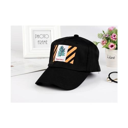 USUPSO  หมวกแก๊ป Indian Fasion  - สีดำ