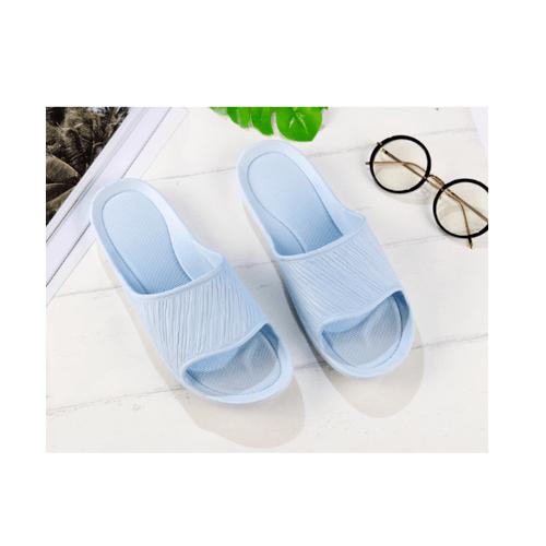 USUPSO รองเท้าแตะอาบน้ำ 39-40 สีฟ้าอ่อน สีฟ้า