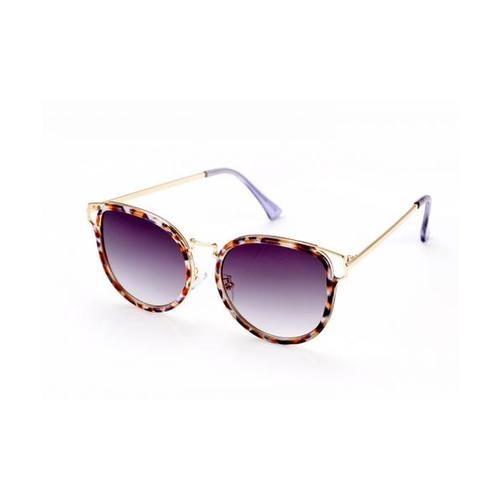 USUPSO  แว่นตากันผู้หญิง  Trend Cat Ear สีม่วง