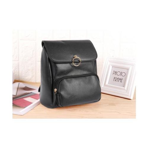 USUPSO USUPSO กระเป๋าเป้สีดำ - สีดำ