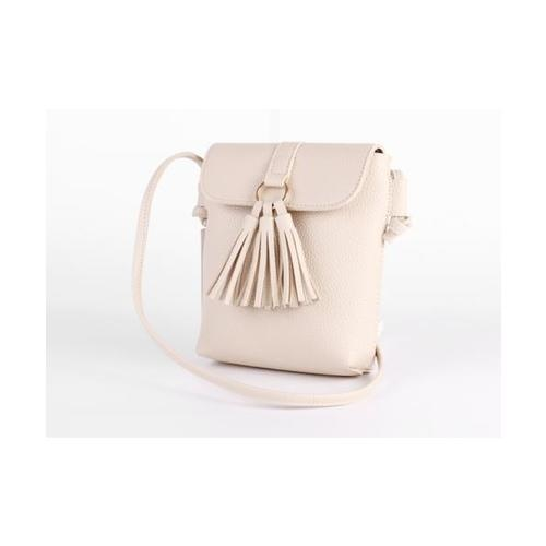 USUPSO  กระเป๋าสะพายผู้หญิง สีเบจ - สีเบจ