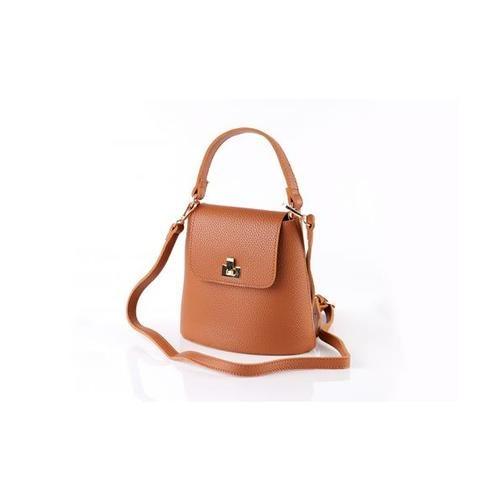 USUPSO กระเป๋าสะพายผู้หญิง สีน้ำตาล - สีน้ำตาล